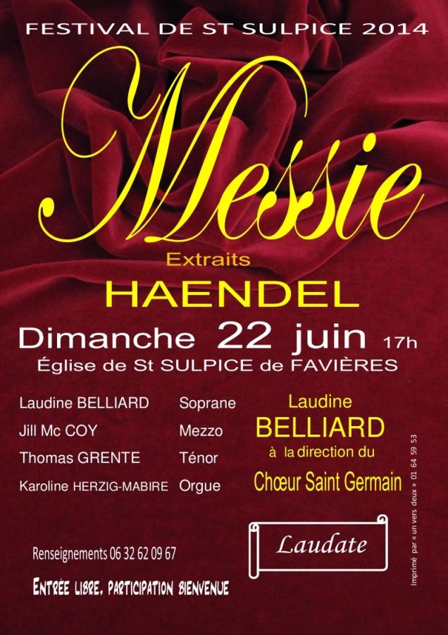 Concert du Chœur Saint-Germain le 22 juin 2014 à Saint-Sulpice-de-Favières