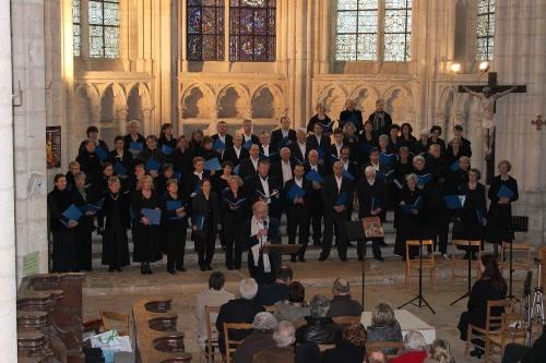 Choeur Saint-Germain Concert à Saint-Sulpice de Favières 2012