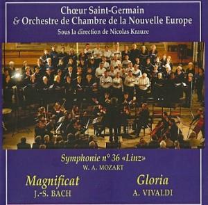 pochette CD Magnificat & Gloria