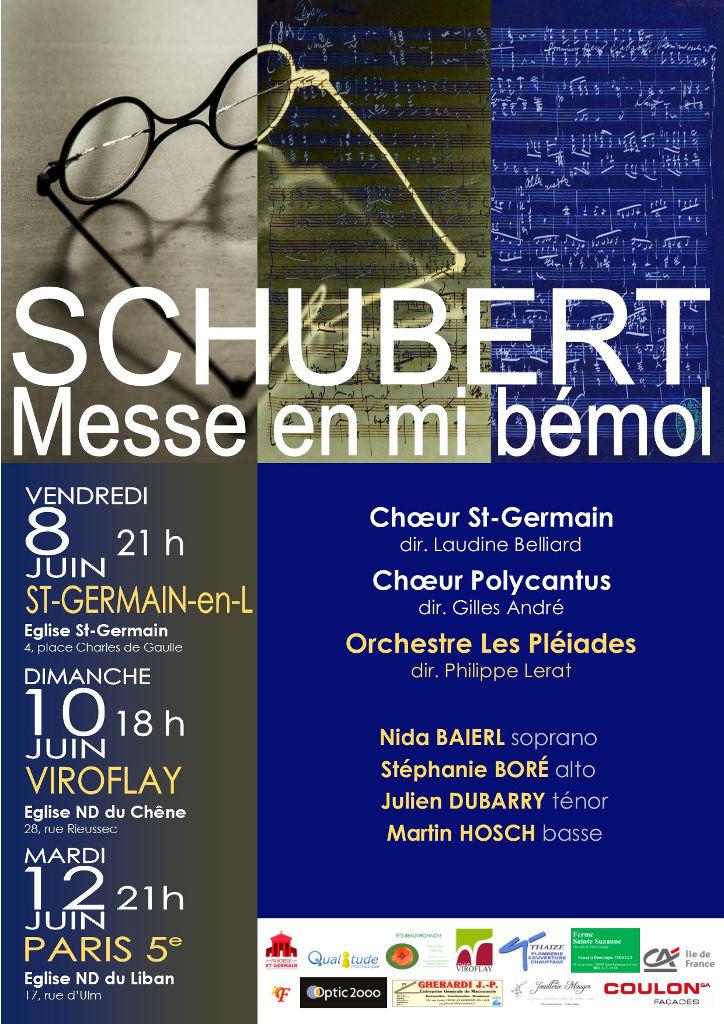 messe en mi bémol majeur de F.Schubert juin 2018