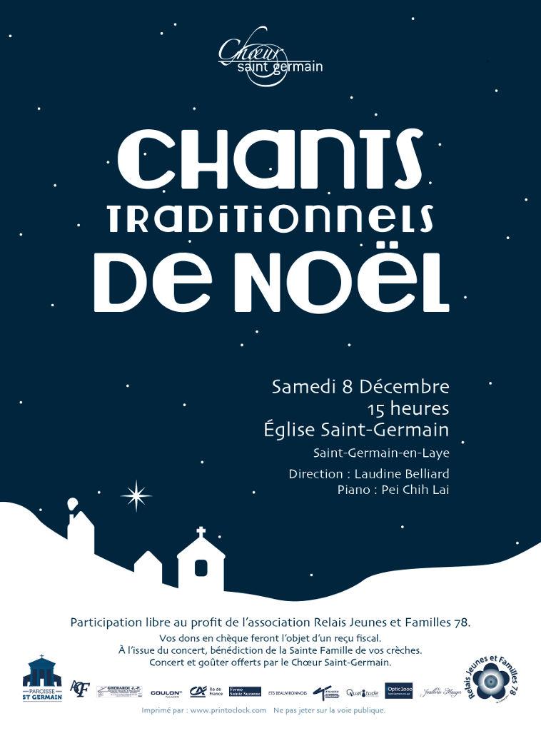 Concert de Noël 2018-Choeur Saint-Germain