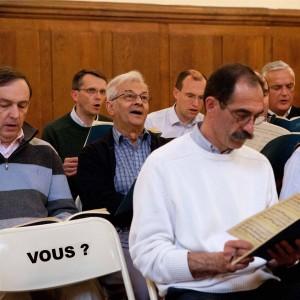 Ténor ou Basse, le choeur St Germain vous recrute